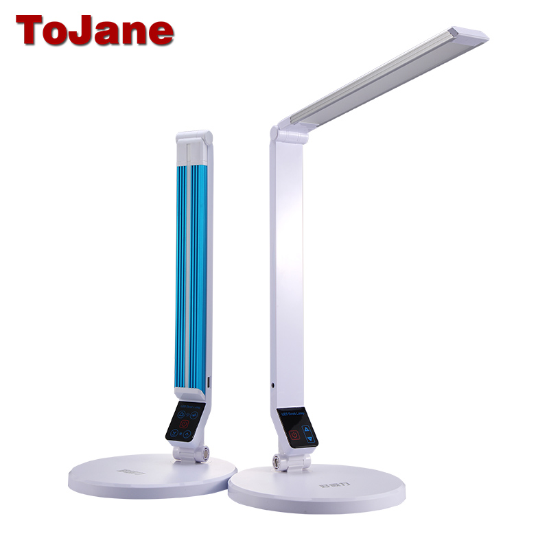 tojane tg188s led desk lamp 5 level dimmer usb 10w table. Black Bedroom Furniture Sets. Home Design Ideas