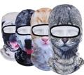2016 Winter Cap Sport Outdoor Cycling Motorcycle Ski Mask Hood Hat Veil Balaclava UV 3D Animal Full Face Masks skullies beanies
