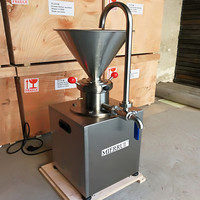 food grade cocoa bean paste /commercial peanut butter paste making machine colloid grinder mill