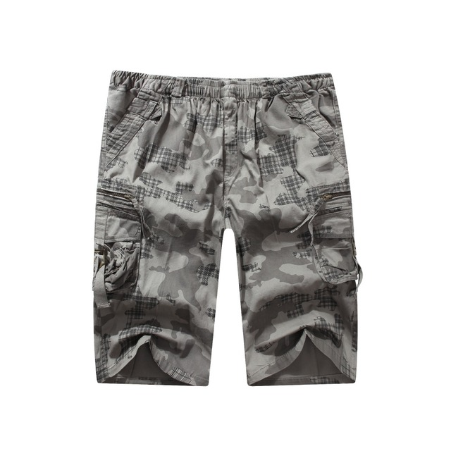 New outfits shorts male summer hit men leisure pants camouflage camouflage cotton fashion men's beach shorts, increase the size