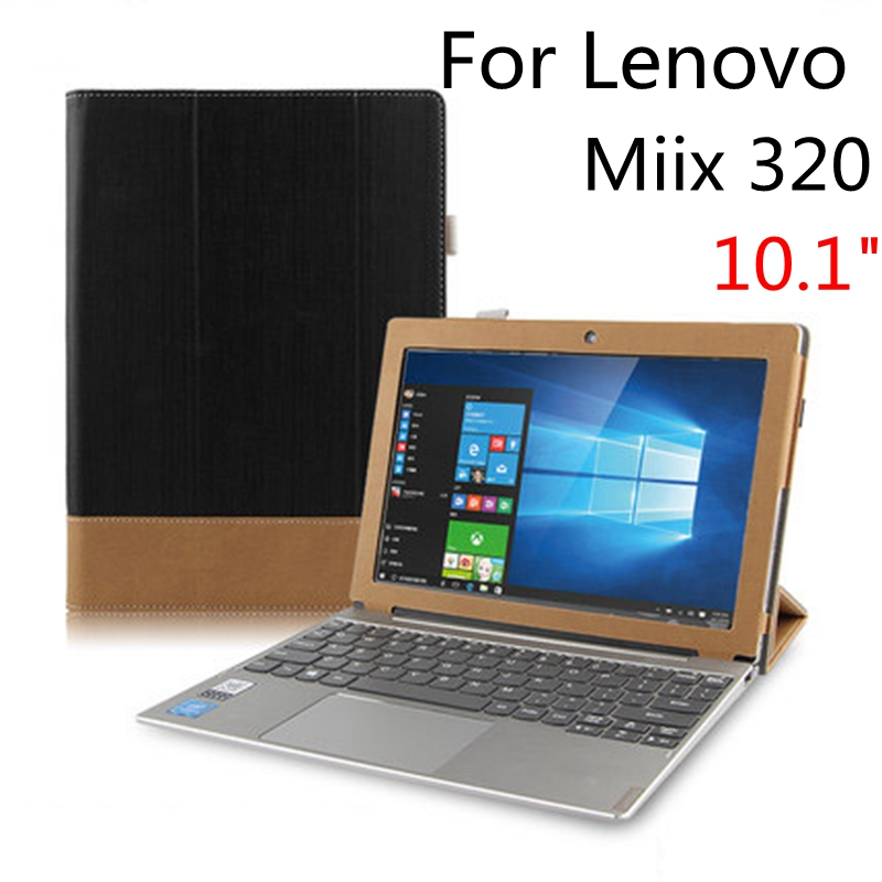 size 40 e53f2 cca47 US $15.9 |Case Cover For Lenovo Miix 320 Protective miix 325 Cover Leather  Tablet For Ideapad MIIX320 10.1 inch PU Protector Sleeve Cases-in Tablets &  ...