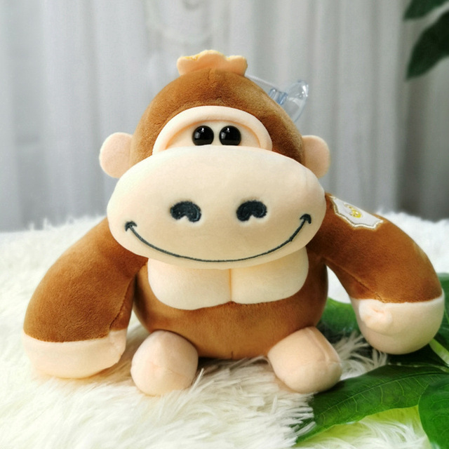 1pcs 25cm Cute Monkey Stuffed animals Soft Doll Plush Toy Stuffed Toys High Quality Orangutan Birthday Gift for Children Kids