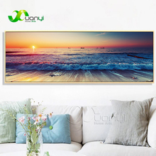 Seascape Prints Canvas Painting Modern Wall Pictures For Living Room Cuadros Decoration Single Poster Home Art Unframed
