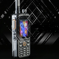 GPS tracker Network Support GSM phone walkie talkie T298S SIM card WCDMA UHF VHF network analog two way radio for police