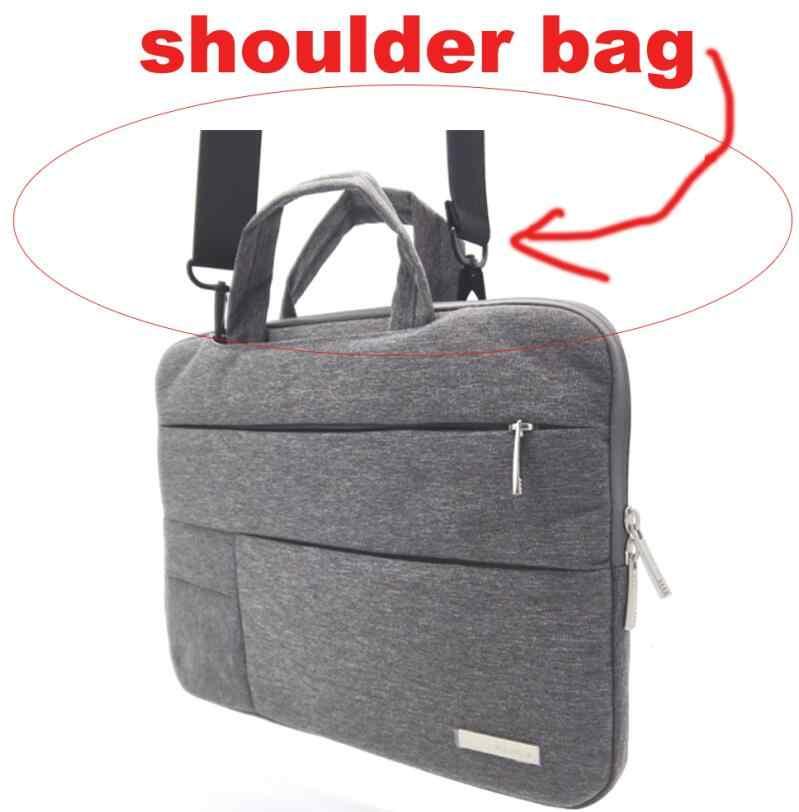 Нейлон 13 14 15,6 сумка на плечо для ноутбука сумка для Xiaomi air Macbook Air Pro lenovo Dell, HP, Asus acer чехол для ноутбука