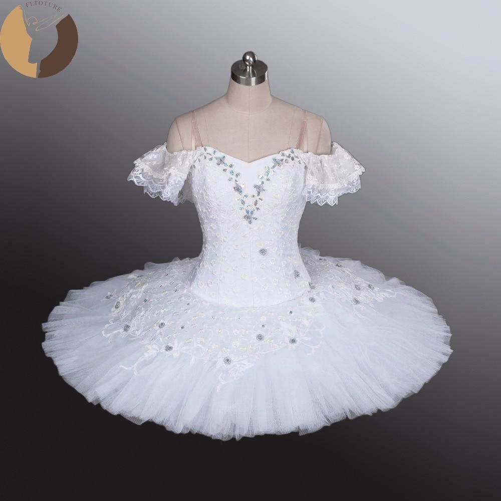 White Ballet Tutu Classical Tutus For Show Adult ...