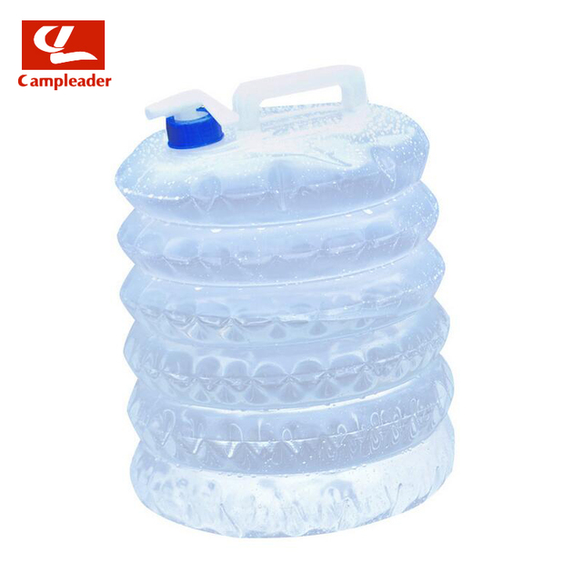 Outdoor Folding Portable Camping PE Plastic Foldable Buckets 5L-15L Car Back Washing Portable Clean Water Bucket CL048
