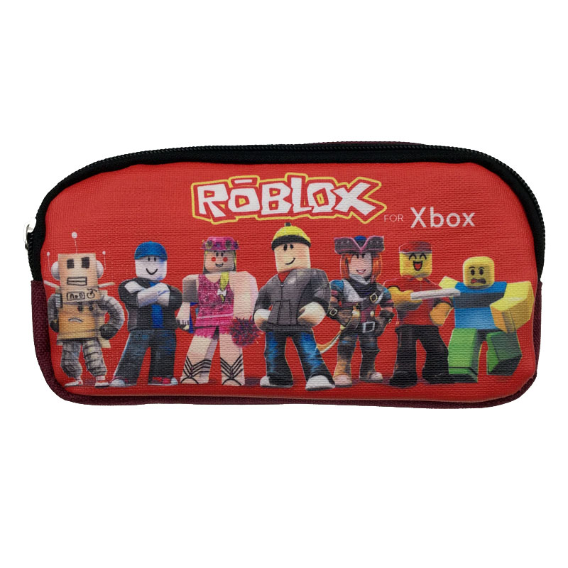 US $4 99 |wholesale makeup bags roblox pencil case zelda pencil case for  school-in Cosmetic Bags & Cases from Luggage & Bags on Aliexpress com |