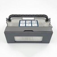 Caixa de filtro de poeira para ecovacs deebot DM88 M88 robot vacuum cleaner parts substituição da coleção de Poeira|Peças p/ aspirador de pó| |  -