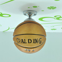 Basketball / Football Glass Children Room Lamps Pendant Lights For Dining Room Modern Pendentes E Lustres Pendant Lamp Luminaire