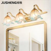 American bathroom led mirror headlight wall lamp bathroom lamp makeup lamp waterproof anti fog toilet lamp