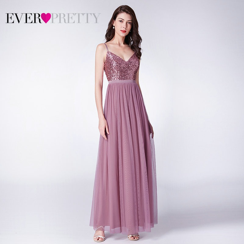 211e5dcca1 Hot Sale] Ever Pretty Long Prom Dresses 2019 Pleated A Line Floor ...