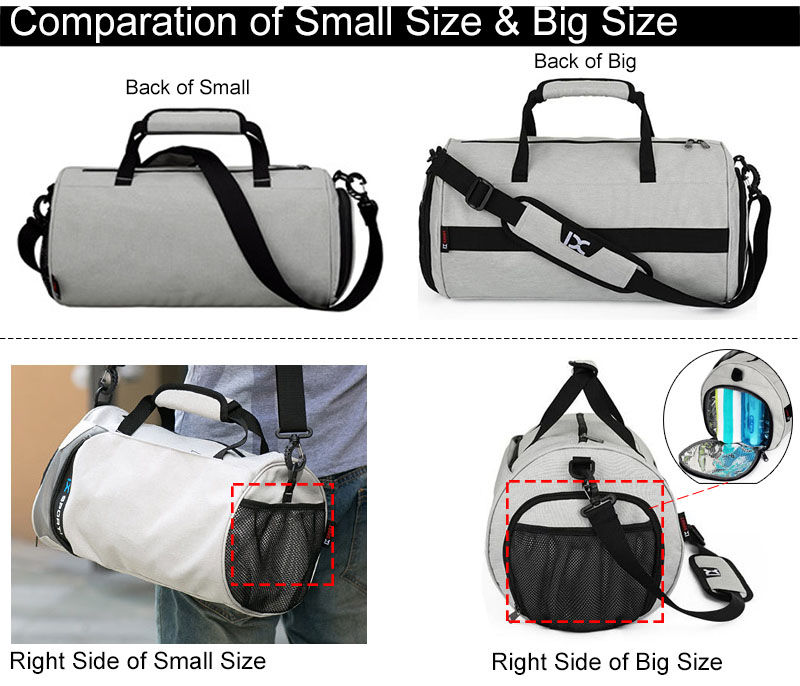 01d7dfd43a IX Men Gym Bags For Training Waterproof Basketball Fitness Women Outdoor  Sports Football Bag With Independent Shoes Storage