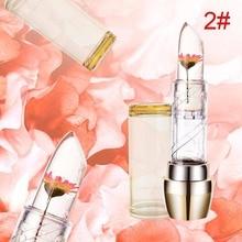 2017 Jelly Temperature Change Moisturizer Bright Super Flower Lipstick Magic Color Nutritious Lip Balm Lip Care