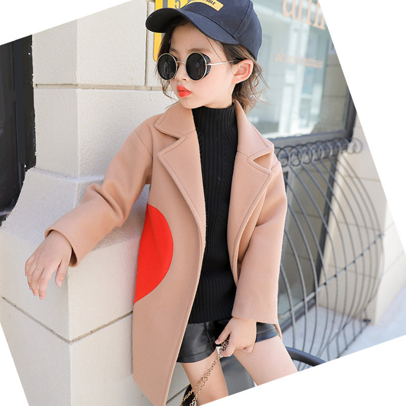 Girls clothes Trench Coats Jacket For Clothes Tops Kids Children Windbreakers Spring Autumn Outerwear wool coat hooded coatGirls clothes Trench Coats Jacket For Clothes Tops Kids Children Windbreakers Spring Autumn Outerwear wool coat hooded coat