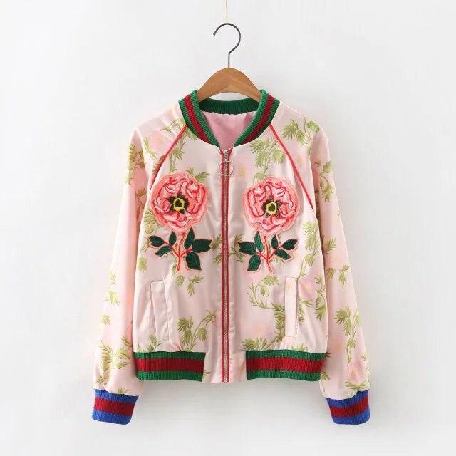Pink Cropped Jacket - JacketIn