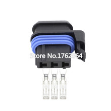 10PCS 3-hole car connector / Automotive Connector female with Terminal DJ7032-3-21
