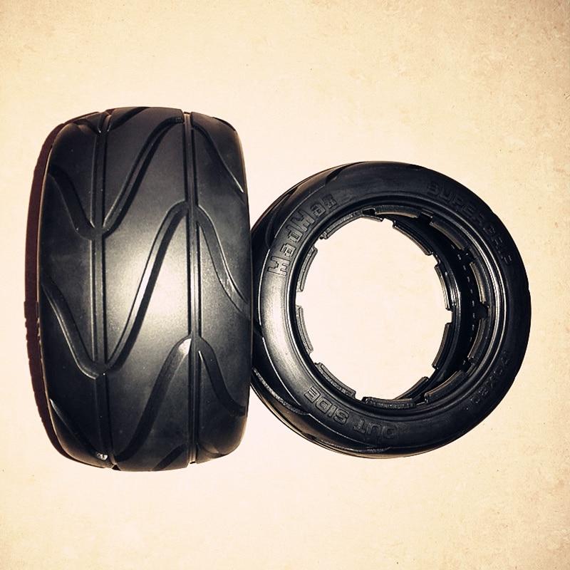 baja 5B front rear wheel Slicks Tire for 1/5 HPI Baja 5B Parts Rovan KM 2017 baja 5b carbon fiber side rail for 1 5 hpi km rovan baja 5b rc baja parts new