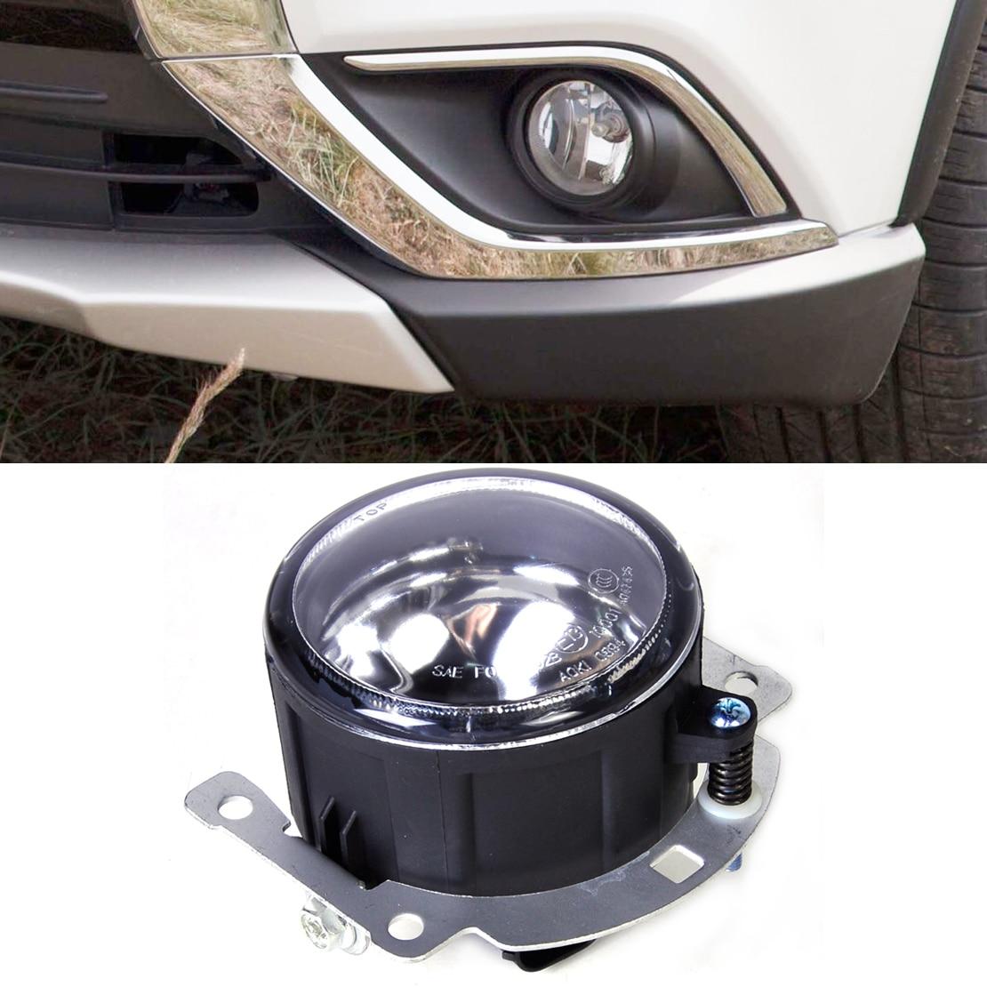 DWCX New 12V 55W 1PC Left=Right Front Fog lamp Light 8321A467 SL870-1 Fit for Mitsubishi Outlander ASX RVR new 12v 55w left right front fog lamp light 8321a467 sl870 1 fit for mitsubishi outlander asx rvr