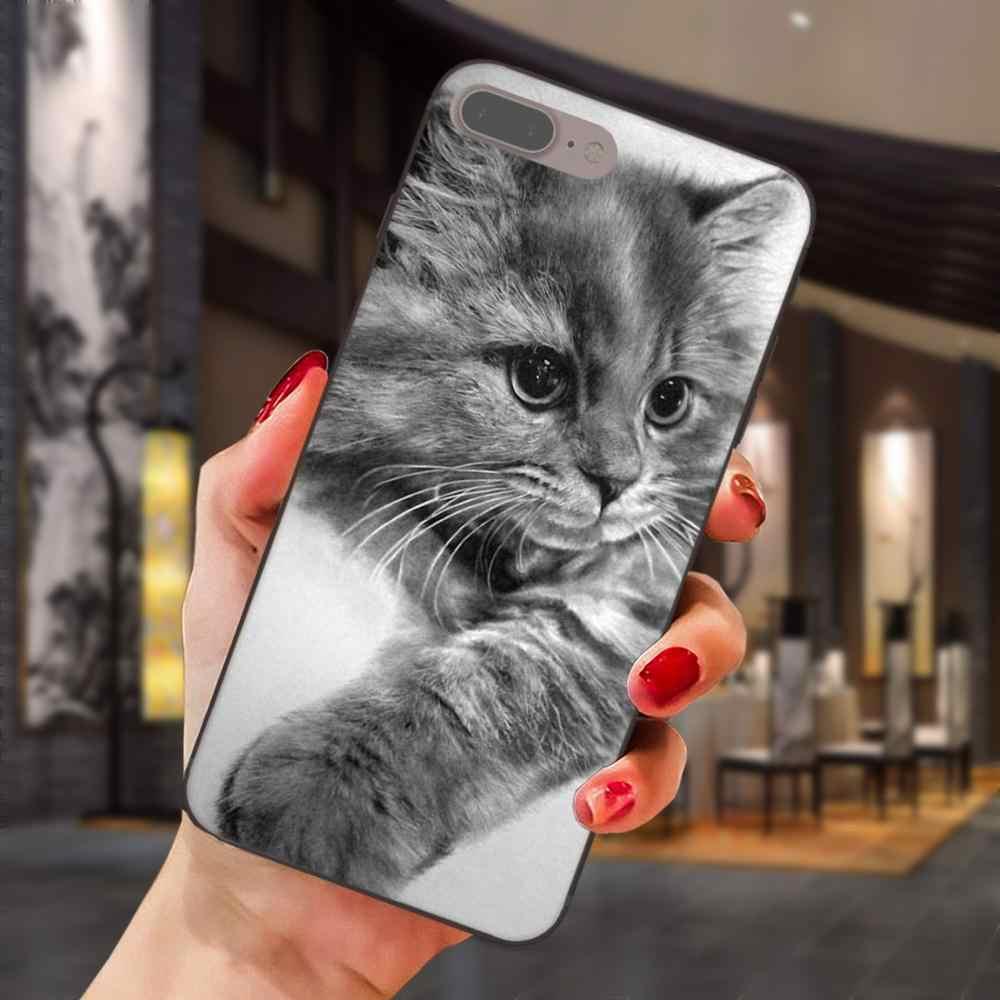 Серый Кот с Зенит Камера для Xiaomi Redmi Note 2 3 4 4A 4X5 5A 6 6A 7 Go Plus Pro S2 Y2 Специальное предложение Роскошные