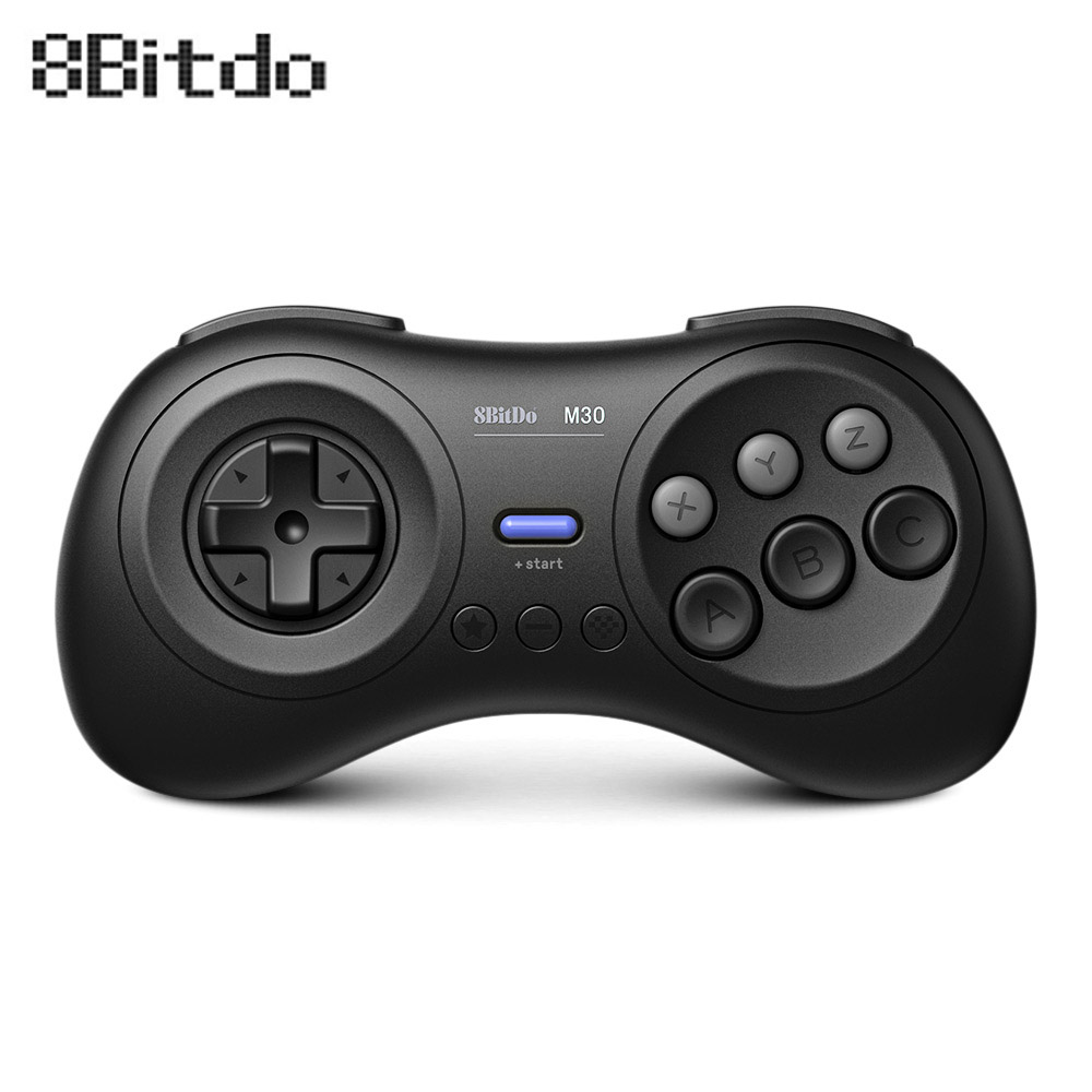 8BitDo M30 Wireless Bluetooth Gamepad Controller for Sega Genesis Mega Drive Style for Nintendo Switch PC MAC Steam Games8BitDo M30 Wireless Bluetooth Gamepad Controller for Sega Genesis Mega Drive Style for Nintendo Switch PC MAC Steam Games