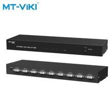 MT-Viki 8 Port DVI Splitter Video Distributor 1x8 Kompatibel 2048x1536 Hohe Auflösung Bild Duplizieren MT-DV8H