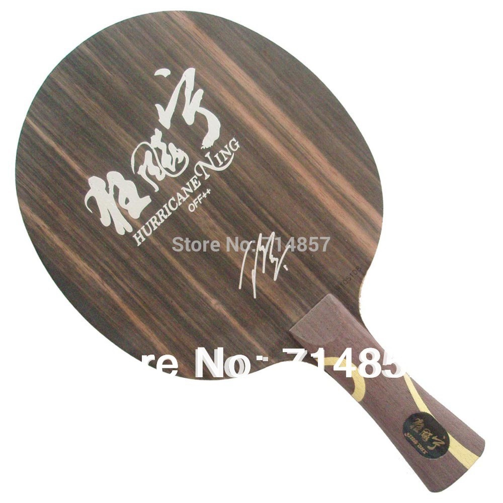 DHS Hurricane Ning table tennis / pingPong blade [playa pingpong] dhs k161 chinese naitional version vis structure balde