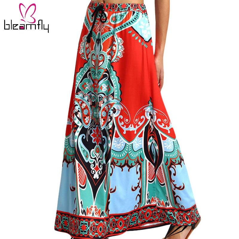 dashiki skirt print clothing 2016 boho summer