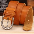 2017 women designer belt men high quality luxury 100% real cowhide full grain genuine leather camel cowboy 3.8 cm soft masculino