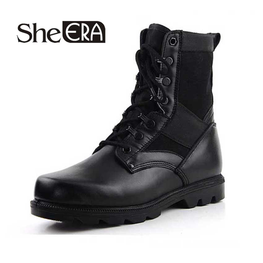 New Combat Boots