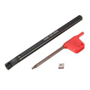 Image 3 - 5 個ボーリングバーtunringツールsclcr 6 7 8 10 12 ミリメートル 5PcsCCMT0602 挿入 95 度右手ブレード · インサート旋削工具セット