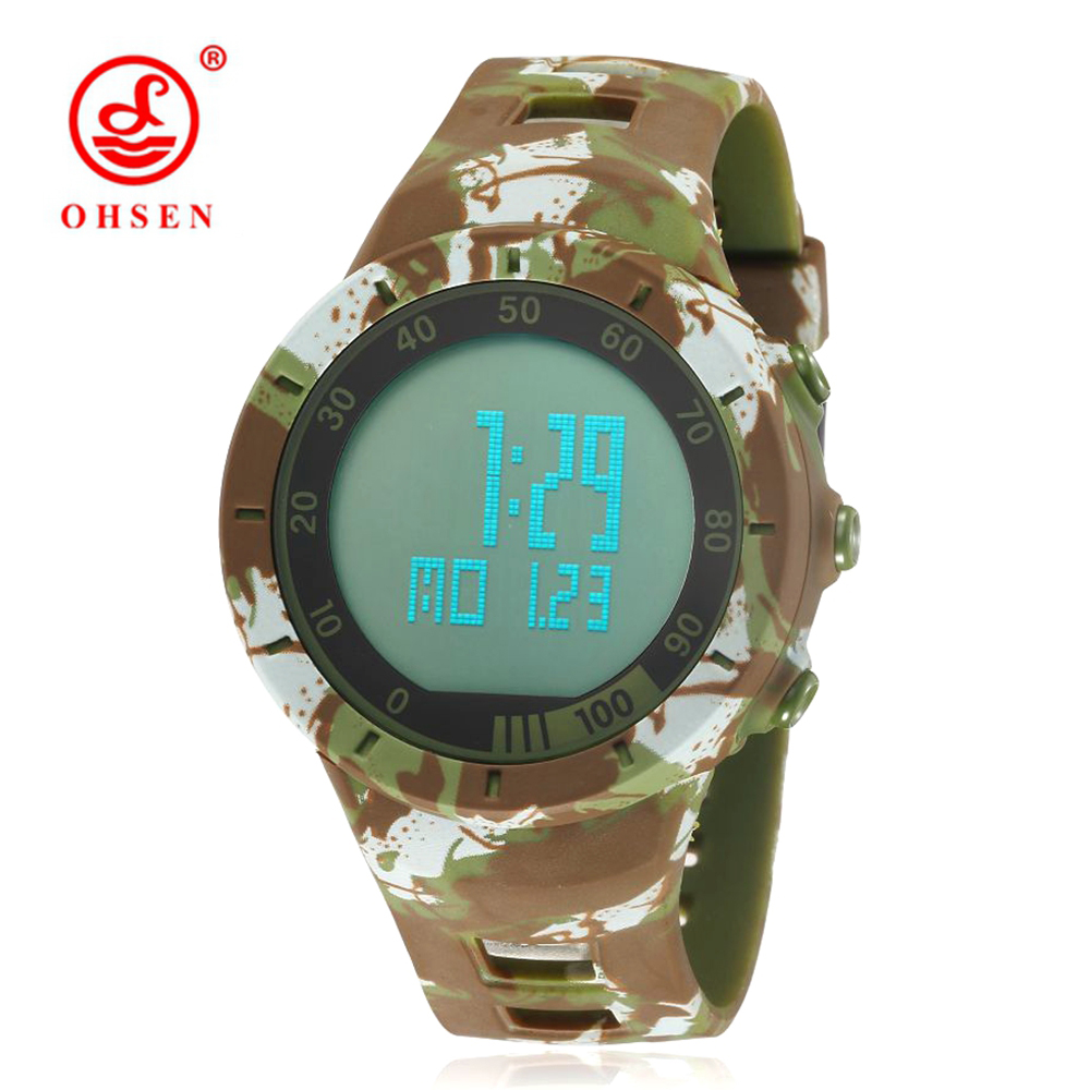 Herrenuhren Wasserdicht Datum Led Digital Sport Quarz Analog Mens Military Armbanduhr Sport Elektronische Uhren