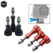3Pcs Aluminum Thumb Knob Bolt Screw for GoPro Hero 7 6 5 4 Xiaomi Yi 4K Sjcam SJ4000 H9 Case Tripod Mount Cam Accessory(China)