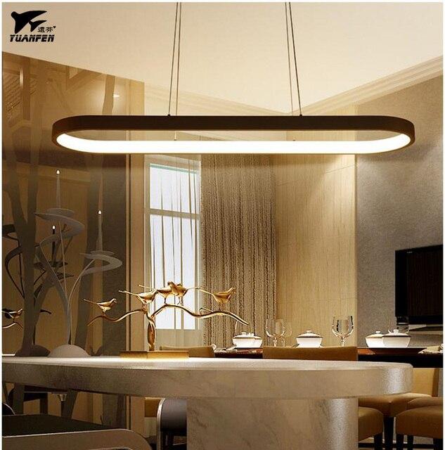 New Creative Modern Led Pendant Lights Acrylic Metal Suspension