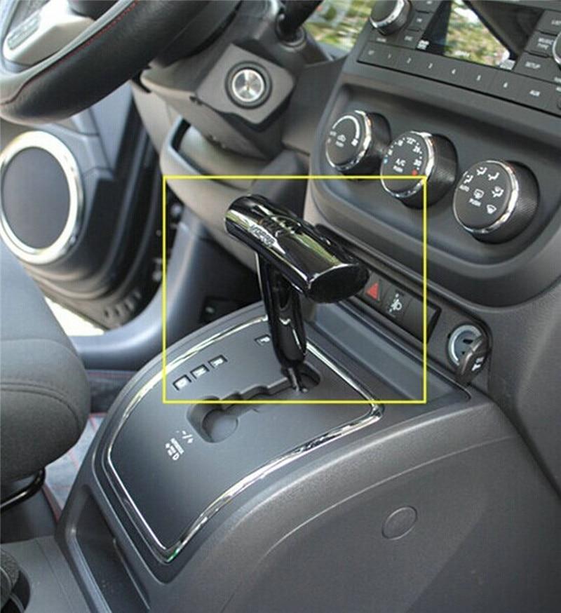 Fit Dodge Chrysler 300 Challenger//Charger T-Handle Shift Knob Shifter Black