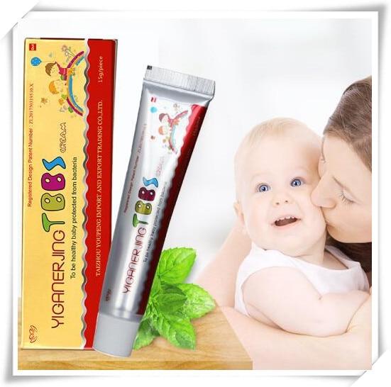 Yiganerjing Body Psoriasis Eczema Dermatitis Cream 15g Natural Vaseline Moisturizer Ointment Eczema Pruritus L45