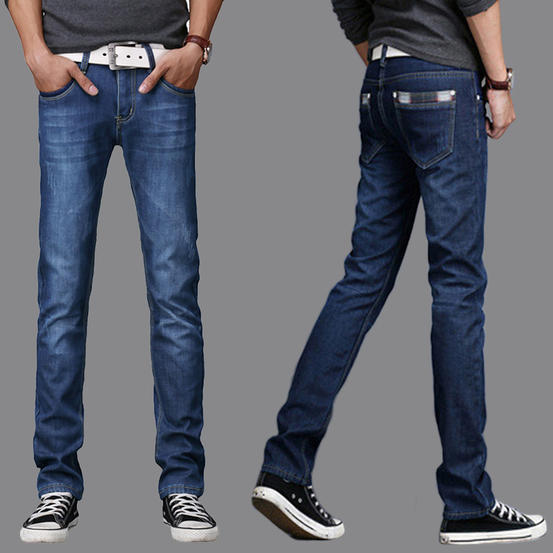 New Free Shipping Hot Sale Classic Brand Slim Straight Men Jeans,Retail&Wholesale Large Size Denim Cotton Summer Jeans Men,2000 2016 elky men retro fashion glasses new brand design oculos free shipping sunglasses wholesale retail a585 02
