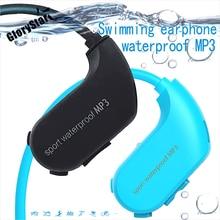 Memory 4GB/8GB Wireless head-mounted swimming mp3 diving wat