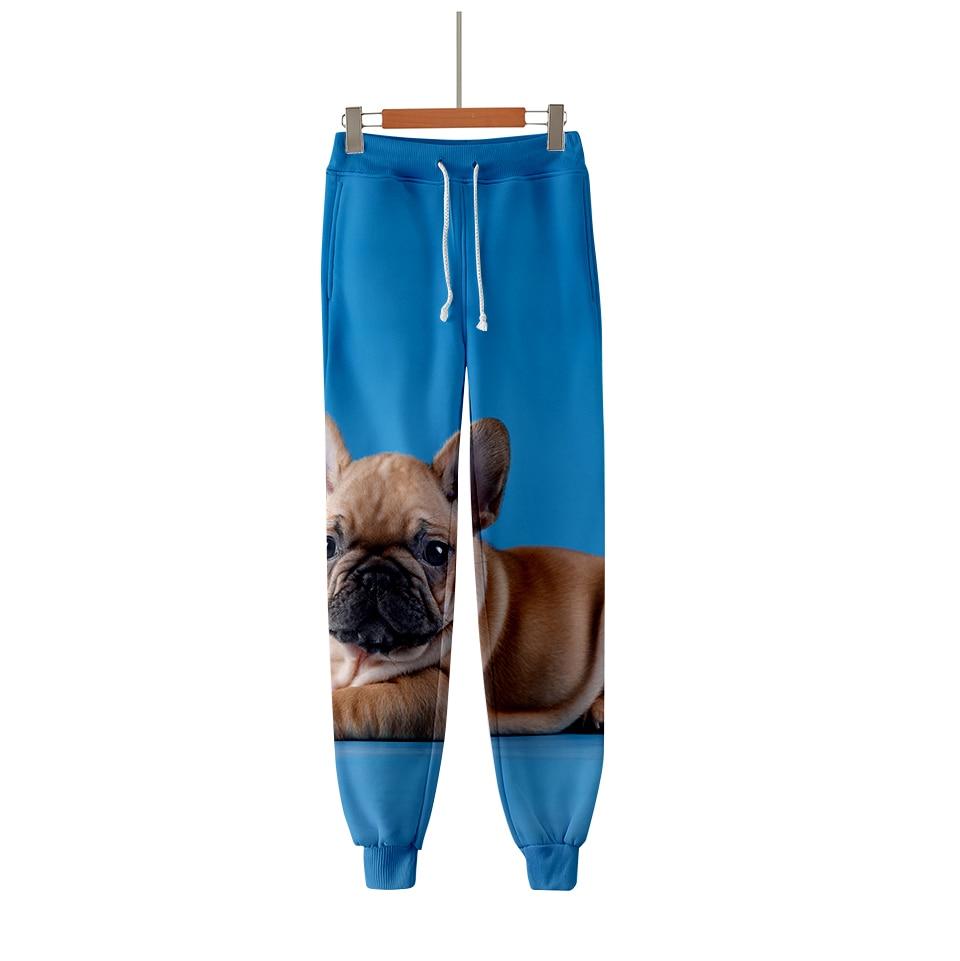Clever Französisch Bulldog 3d Printd Jogger Hosen Frauen/männer 2019 Mode Streetwear Lange Hosen Heißer Verkauf Casual Trendy Jogginghose
