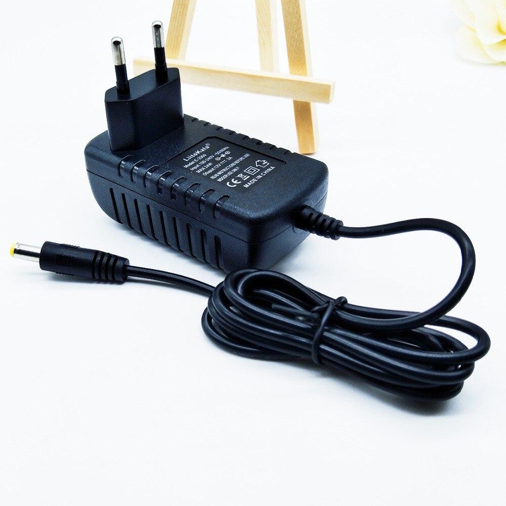 Liitokala lii500 adaptateur 12V-2A adaptateur pour moniteur la alimentation DC5.5 * 2.1mm port