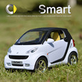 Alloy car model, 1: 32 scale alloy pull back Smart,High simulation toys,toy car,free shipping