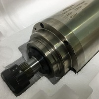 100mm CNC Spindle Motor 2.2kw Water cooled ER20 Spindle 400Hz 24000rpm for Engraving Machine