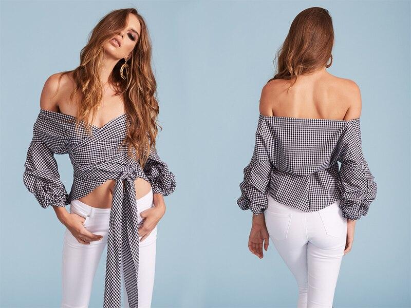 HTB1VJ pNFXXXXbNXpXXq6xXFXXXn - Shoulder ruffle white blouse Sexy cotton cool blouse shirt women