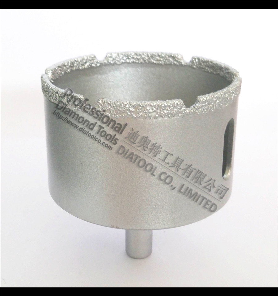 Dia65mm diamond drill bits, Vacuum Brazed drilling core bits for stone/ceramic/glass/masory, hole saw