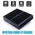 2016 nova skylake 6gen mini pc core i7 6600u 6500u max 3.1 ghz intel hd graphics 520 micro computador htpc windows 10, Linux