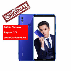 Original Honor Note 10 NFC 4G LTE Kirin 970 Octa-core Smart  Phone Dual SIM 6.95 inch Android 8.1 Rear 24.0MP+16.0MP