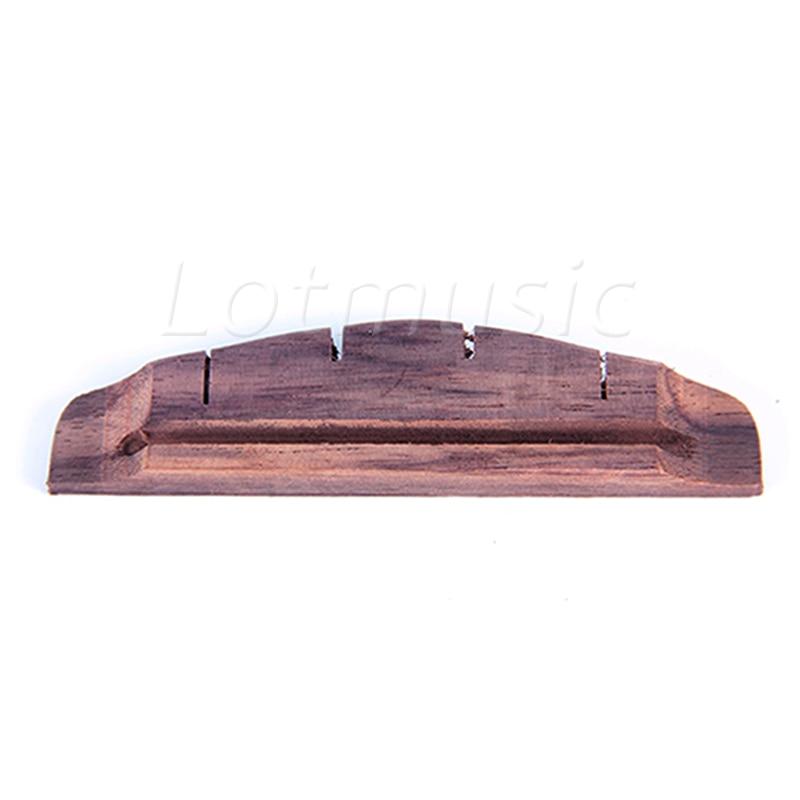 ukulele bridge rosewood for uke ukelele hawaii guitar parts replacement slotted in guitar parts. Black Bedroom Furniture Sets. Home Design Ideas
