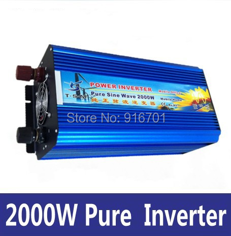 2000 watt Reine Sinus Welle Power Inverter DC 12 v ZU AC 220 v, ROHS genehmigt (2000 watt peak power) 2000 watt Rein Sinus <font><b>Wechselrichter</b></font> image