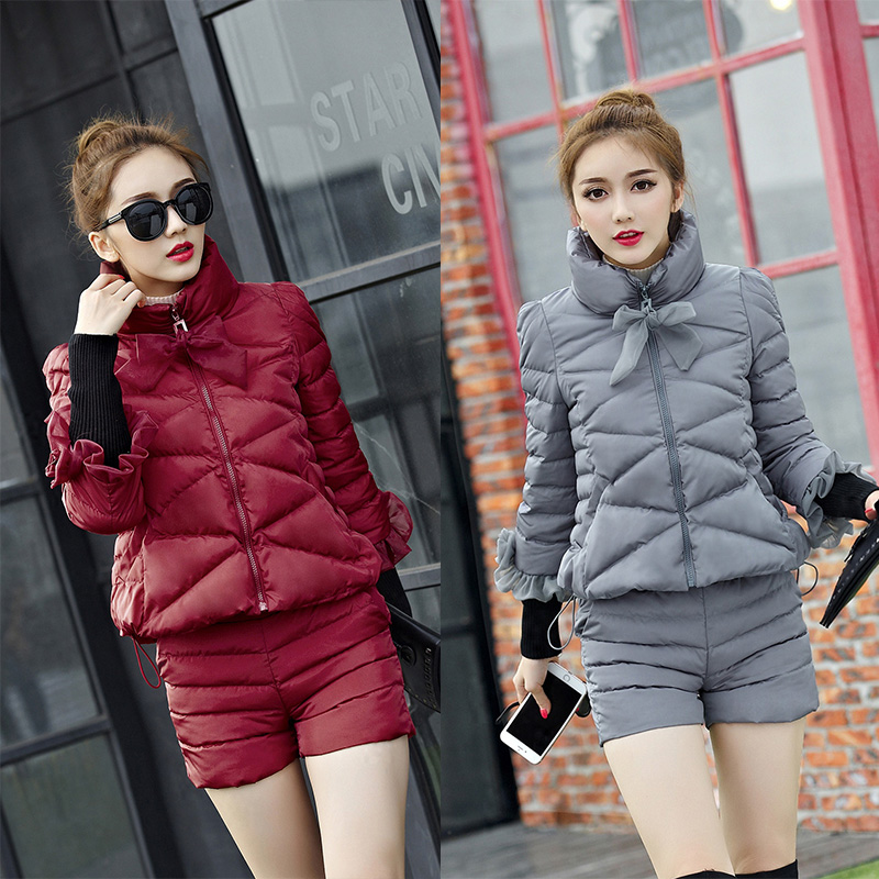 Abner S Garden Center Coupon: Abner 2017 Fashion Women Two Piece Sets Ultra Light Warm