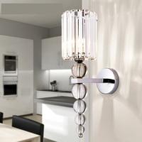 Новый современный настенный светильник наборный хрустальный шар Chrome светодиодный бра свет украшение дома Освещение в помещении приспособ
